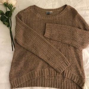 Roxy brown sweater